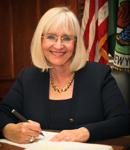 Photograph of Judi Bosworth, Supervisor of the Town of North Hempstead